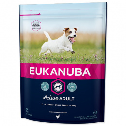 Корм для собак - Eukanuba Adult Small, 1кг