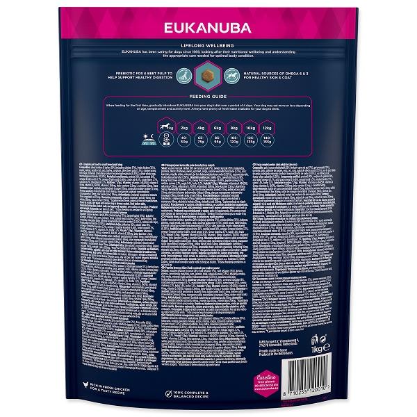 Корм для собак - Eukanuba Adult Small, 1кг
