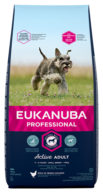 Корм для собак - Eukanuba Adult Small 19kg