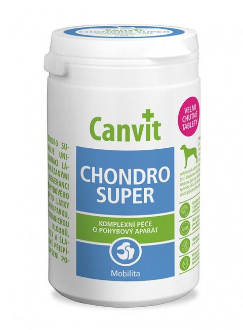 Витамины для собак - Canvit Chondro Super tablets N80, 230 г title=
