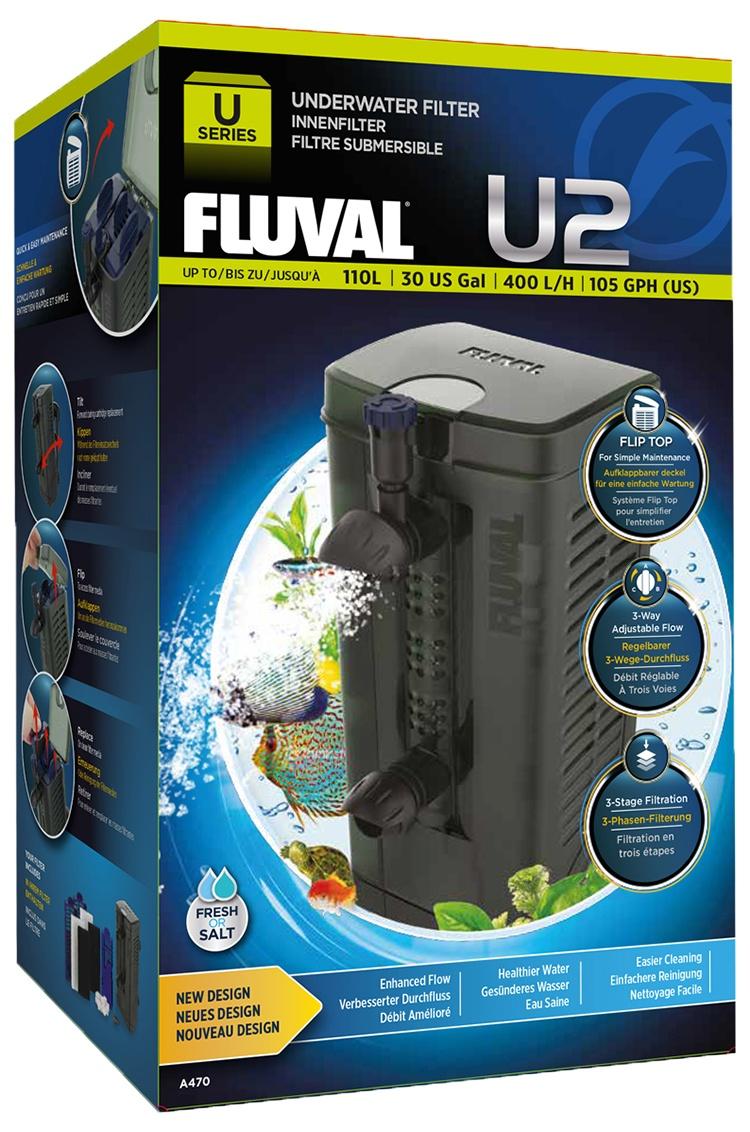 Фильтр для аквариума - Fluval  U2