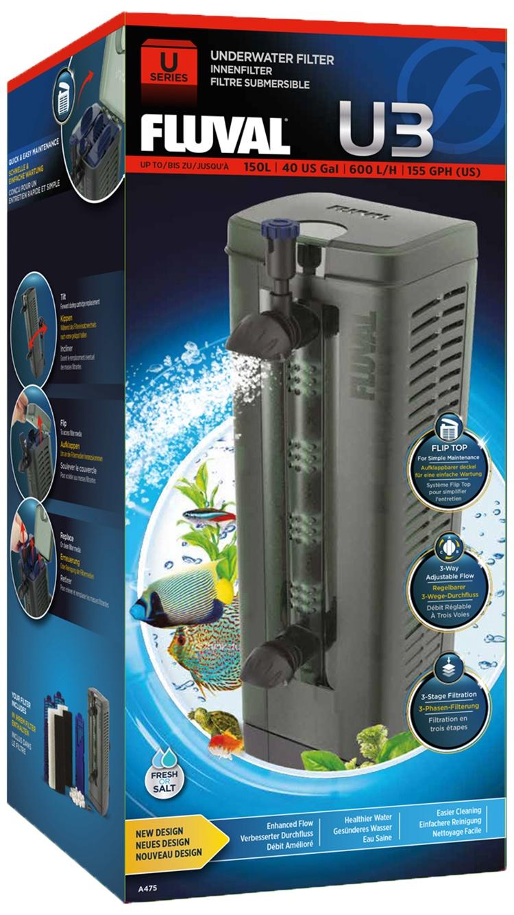 Фильтр для аквариума - Fluval  U3
