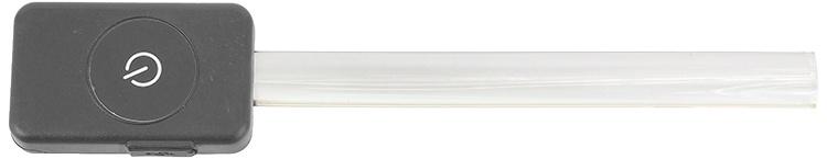 Atstarojošā kakla siksna - Dog Fantasy Collar Cover LED, light red, 15 cm