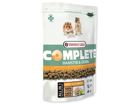 Barība kāmjiem un smilšu pelēm - VERSELE-LAGA Complete Hamster & Gerbil, 500 g