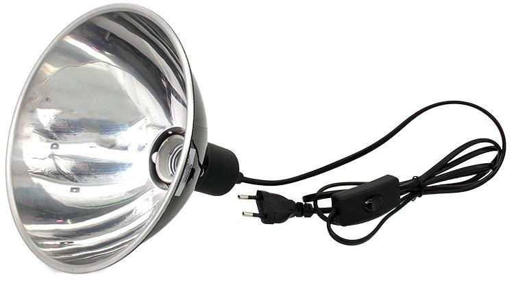 Lampa terārijam - ReptiPlanet Light Dome, 19 cm