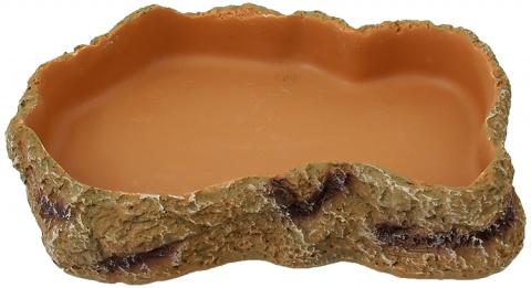 Миска для террариума - ReptiPlanet Feeding bowl, 19.2 см title=