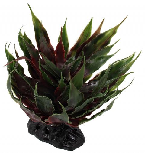Декор для террариума - ReptiPlanet Agave succulent green, 18 см