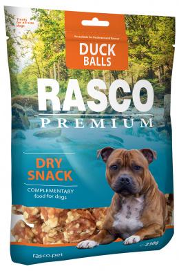 Gardums suņiem - Rasco Premium Duck Balls, 230 g
