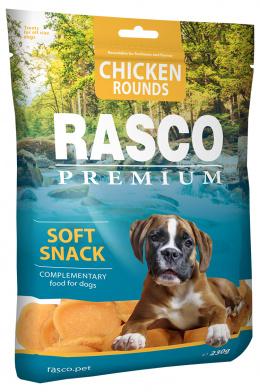Gardums suņiem – Rasco Premium Chicken Round, 230 g