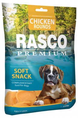 Лакомство для собак - Rasco Premium Chicken Round, 230г