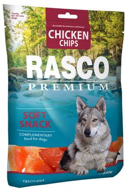 Лакомство для собак - Rasco Premium Chicken Chips, 230г