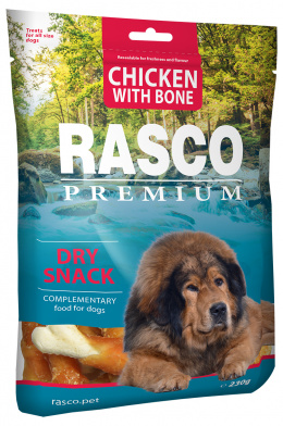 Gardums suņiem - Rasco Premium Chicken With Bone, 230g