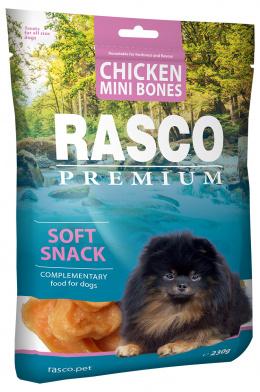 Лакомство для собак - Rasco Premium Chicken Mini Bones, 80г