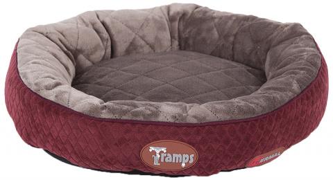 Guļvieta kaķiem - Scruffs TRAMPS Thermal Ring Cat Bed, Burgundy, 50 cm