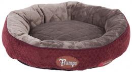 Спальное место для кошек - Scruffs TRAMPS Thermal Ring Cat Bed, бордовый, 50 cm