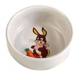 Керамическая миска для грызунов - Rabbit 300ml