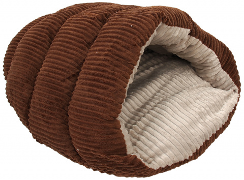 Guļvieta - Dog Fantasy Comfy 2, izmēri - 55*43*25 cm, light brown