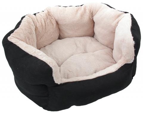 Guļvieta -  Dog Fantasy Comfy 1, izmēri - 46*40*20 cm, black