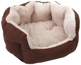 Guļvieta - Dog Fantasy Comfy 1, izmēri - 46*40*20 cm, chocolate