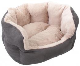 Guļvieta - Dog Fantasy Comfy 1, izmēri - 46*40*20 cm, grey