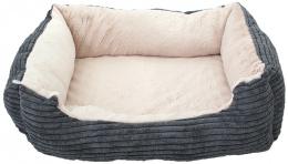 Спальное место для животных - DogFantasy Orthopedic, 68x55x15 cm, gray