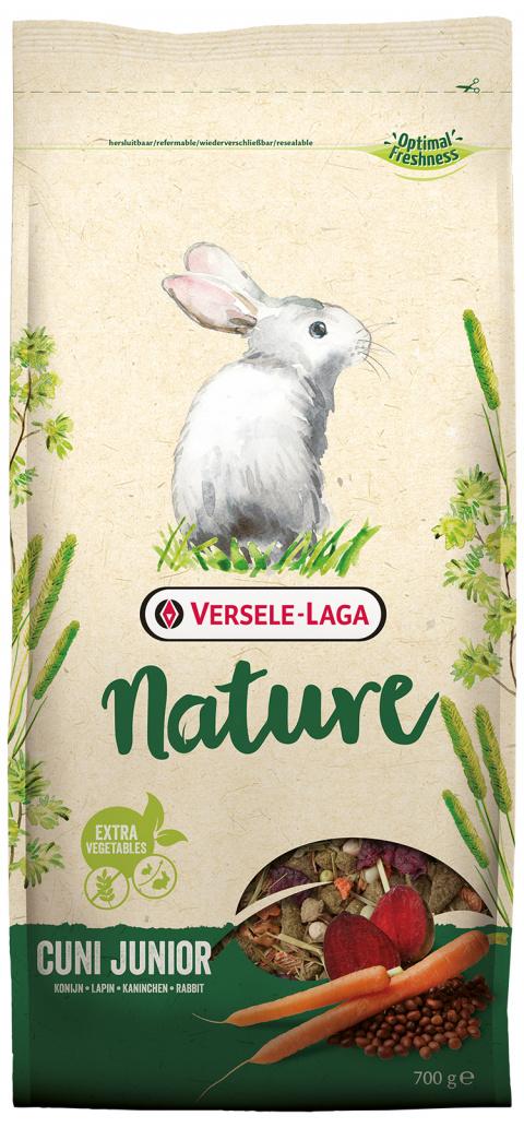 Barība trušiem junioriem - Prestige Nature Cuni Junior, 700 g