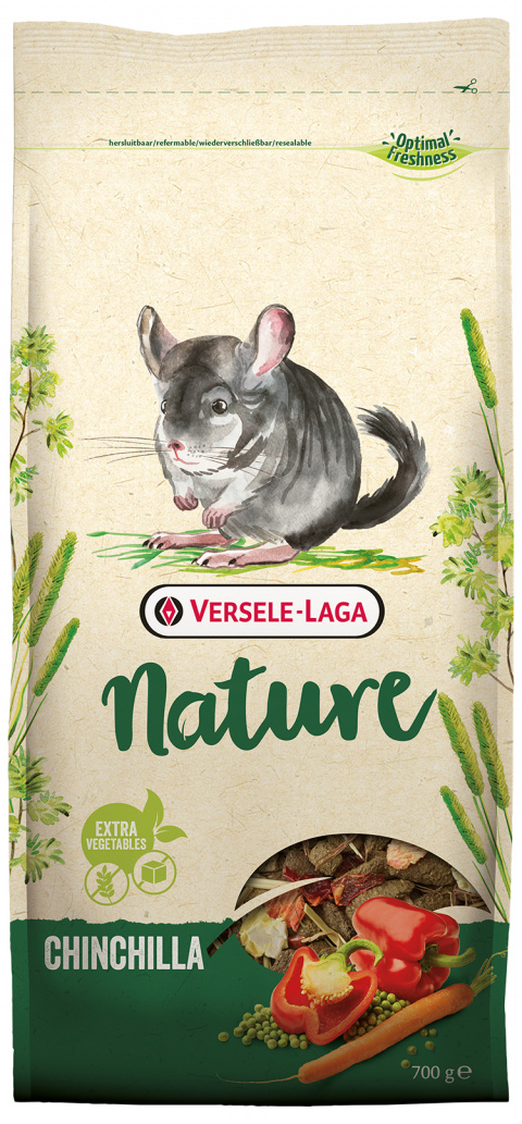 Barība šinšillām - Nature Chinchilla, 700 g