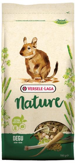 Barība degu pelēm  - Prestige Nature Degu, 700 g