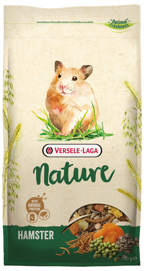 Корм для хомяков – Versele Laga Prestige Nature Hamster, 700 г title=