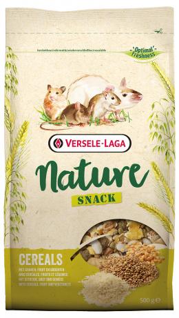 Papildbarība grauzējiem - Versele Laga Prestige Nature Snack Cereals, 0.5 kg