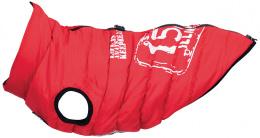 Apgērbs suņiem - Trixie Saint-Malo coat with harness, XS: 30 cm, sarkans