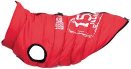 Apgērbs suņiem - Trixie Saint-Malo coat with harness, S: 40 cm, sarkans