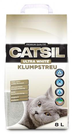 Песок для кошачьего туалета - CatSil, 8 л