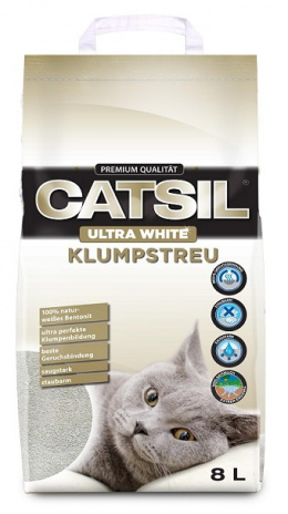 Песок для кошачьего туалета - CatSil 8L