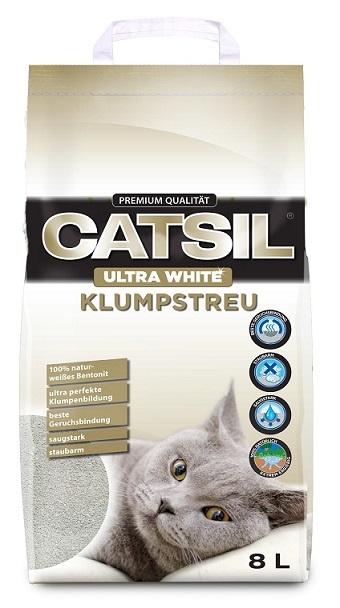 Smiltis kaķu tualetei - CatSil, 8 L