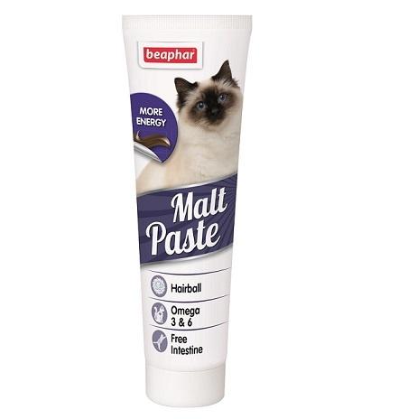 Barības piedeva kaķiem - Beaphar Malt-paste, 100 g title=