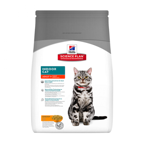 Barība kaķiem - Hill's Feline Indoor Cat, 4 kg