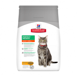 Barība kaķiem - Hill's Feline Adult Perfect Weight, 3kg