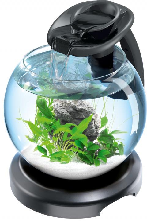 Аквариум -  Tetra Cascade Globe Duo Waterfall black, 6.8 литров