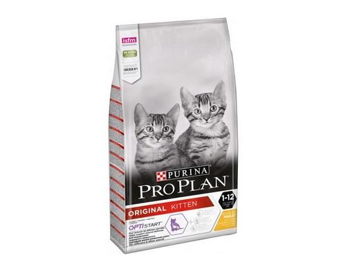 Корм для котят - Pro Plan ORIGINAL Cat Chicken START, 1,5 кг