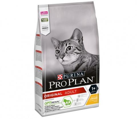 Barība kaķiem - Pro Plan ORIGINAL Cat Chicken RENAL, 1.5 kg