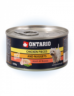 ONTARIO Can Chicken Pieces + Chicken Nugget 200g