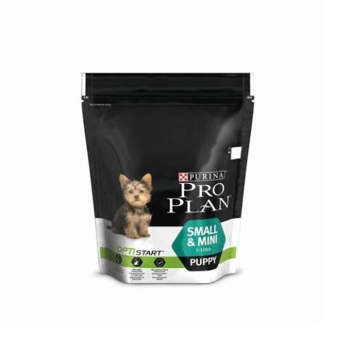 Barība suņiem - Pro Plan Small & Mini Puppy Chicken 1+1; (1400 gr)