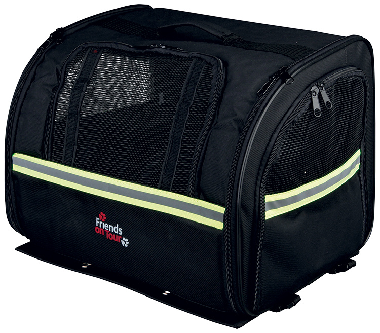 Велосипедная сумка для транспортировки животных - TRIXIE Biker-Bag, 35*28*29см, цвет - черный