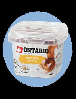 Лакомство для кошек - Ontario Malt bits 75g