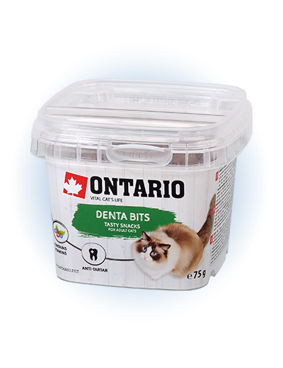 Gardums kaķiem - Ontario Dental bits, 75 g