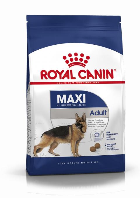 Barība suņiem - Royal Canin Maxi adult, 15 kg