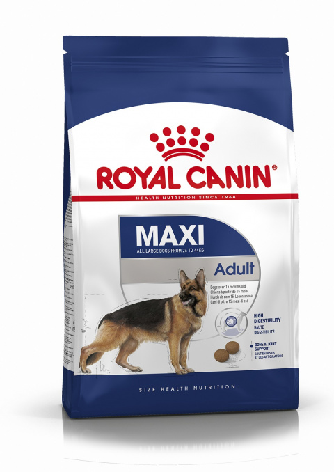Корм для собак - Royal Canin Maxi adult, 4 кг