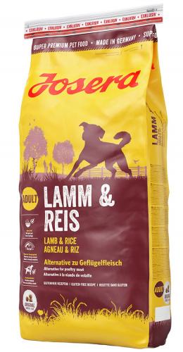 Barība suņiem - Josera Lamb&Rice, 15kg