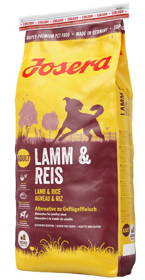 Корм для собак - Josera Lamb&Rice, 15 кг